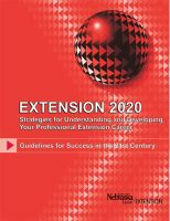 Cover for 'Extension 2020'