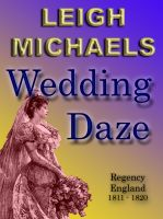 Cover for 'Wedding Daze'