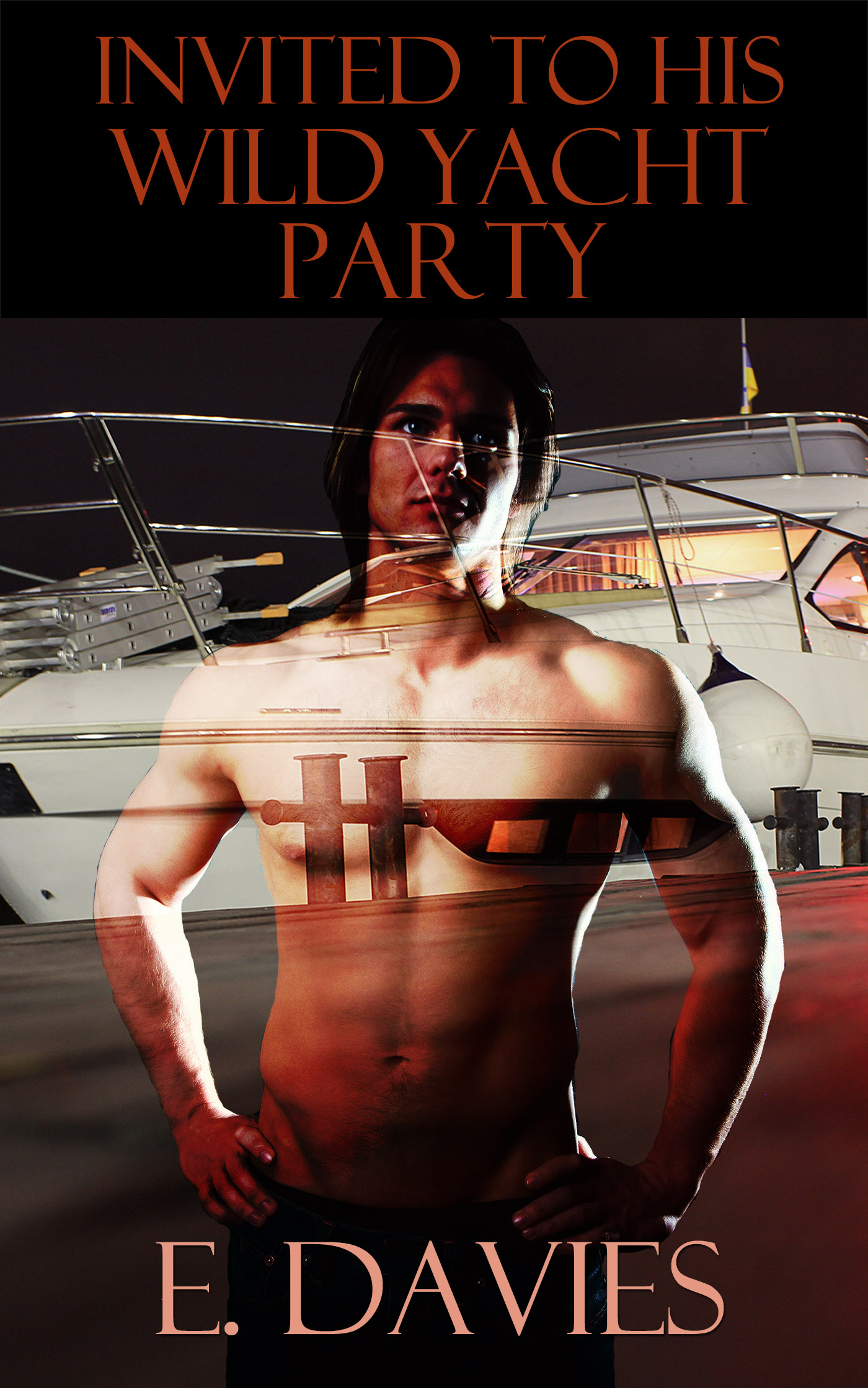 E. Davies - Invited to His Wild Yacht Party (Gay Erotica)