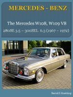 Cover for 'The Mercedes W108, W109 V8'