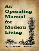 Cover for 'An Operating Manual for Modern Living'