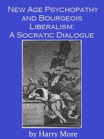 Cover for 'New Age Psychopathy and Bourgeois Liberalism: A Socratic Dialogue'