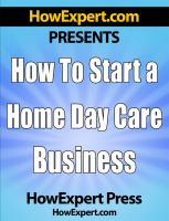 How To Start a Home Day Care Business  cover