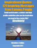 Cover for 'Inspirational Quotes: 129 Inspiring Messages from Famous People'