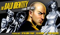 Cover for 'The Bald Identity'