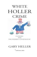 Cover for 'White Holler Crime'