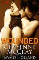 Cover for 'Wounded: a BDSM Romance'