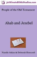 Cover for 'People of the Old Testament: Ahab and Jezebel'