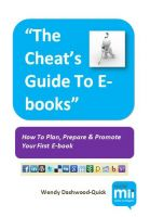 Cover for 'The Cheat's Guide To E-books'