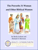 Sheila Graham - The Proverbs 31 Woman and Other Biblical Women