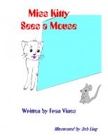 Cover for 'Miss Kitty Sees a Mouse'