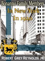 Cover for 'Bonanno Family Members In New York In 1920'