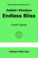 Cover for 'Seâdet-i Ebediyye Endless Bliss Fourth Fascicle'