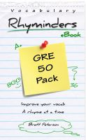 Cover for 'GRE Vocabulary Word Rhyminders: 50 Rhyme Pack'