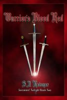 Cover for 'Warrior's Blood Red (Sorcerers' Twilight Book Two)'