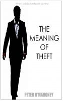Cover for 'The Meaning of Theft'