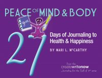 Cover for 'Peace of Mind & Body: 27 Days of Journaling to Health & Happiness'