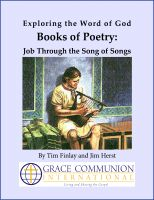 Cover for 'Exploring the Word of God Books of Poetry: Job Through Song of Songs'