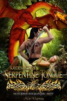 Cover for 'Serpentine Tongue'