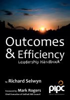 Cover for 'Outcomes & Efficiency: Leadership Handbook'