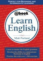 Cover for 'Learn English'