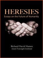 Cover for 'Heresies: Essays on the Future of Humanity'