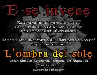 Cover for 'E se invece'