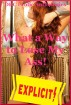 What a Way to Lose My Ass! by DRC Erotic Anthologies
