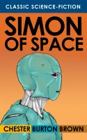 Cover for 'Simon of Space'