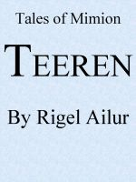 Cover for 'Teeren'