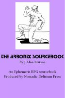 Cover for 'The Arbonix Sourcebook: An Ephemeris RPG supplement'