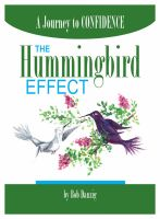Cover for 'The Hummingbird Effect: A Journey to Confidence'