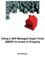 Cover for 'Using a Self Managed Super Fund (SMSF) to 