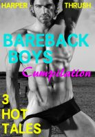 Cover for 'Bareback Boys Cumpilation: 3 Hot Tales [Gay Erotica]'