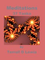Cover for 'Meditations - 37 Tanka'