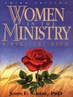 Cover for 'Women in the Ministry'