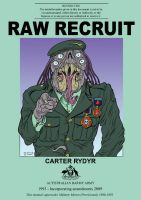 Cover for 'Raw Recruit (Welcome to the Hellhole)'