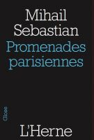 Cover for 'Promenades parisiennes'