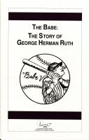 Cover for 'The Babe: The Story of George Herman Ruth'