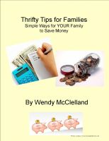 Cover for 'Thrifty Tips for Families'