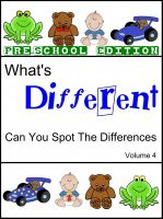Cover for 'What's Different (Pre School Edition) Volume 4'