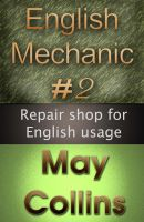 Cover for 'English Mechanic #2: Repair shop for English usage'