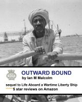 Cover for 'Outward Bound (Merchant Navy post ww2)'