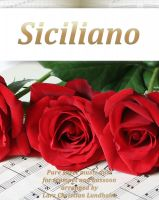 Cover for 'Siciliano Pure sheet music duet for trumpet and bassoon arranged by Lars Christian Lundholm'