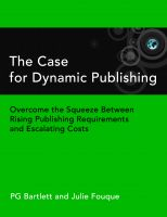Cover for 'The Case for Dynamic Publishing'