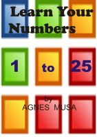 Cover for 'Learn Your Numbers 1 to 25'