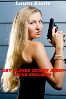 Cover for 'Joey Blonde Secret Agent xxx9 Enslaved'