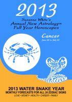 Cover for '2013 Cancer - Suzanne White's Annual Horoscopes for Aries'