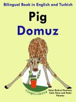 Cover for 'Bilingual Book in English and Turkish: Pig - Domuz - Learn Turkish Series'