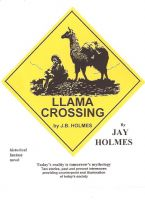Cover for 'Llama Crossing'